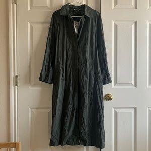 NWT Zara Long Trench Coat